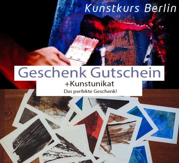 Kunstkurs Berlin Geschenkgutschein