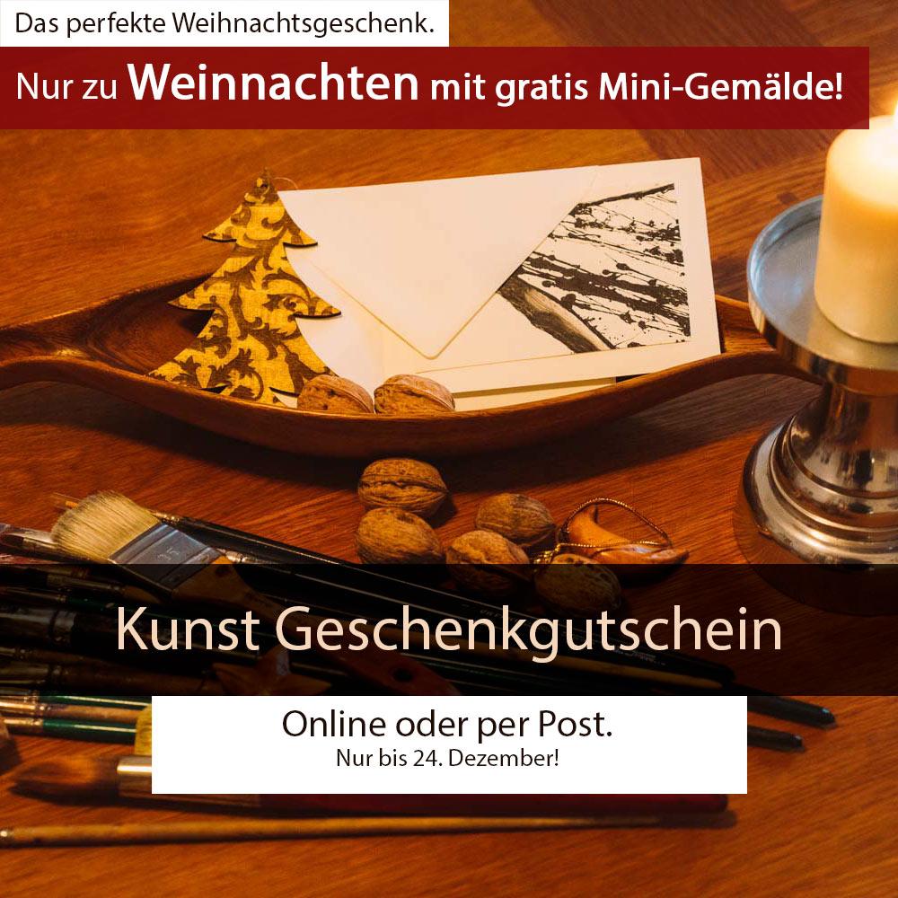 Kunstkurs Berlin Geschenkgutschein Weihnachten